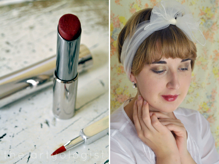 finished-look-and-lipstick, How to Create a Modern 1920's Makeup Look, the artyologist