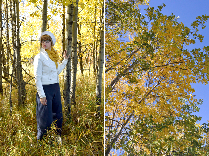 How to Colour Match Your Surroundings, among the trees the artyologist