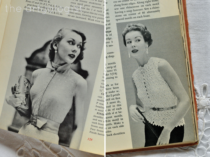 two-ladies, fashion moment with mccalls treasury of needlecraft the artyologist
