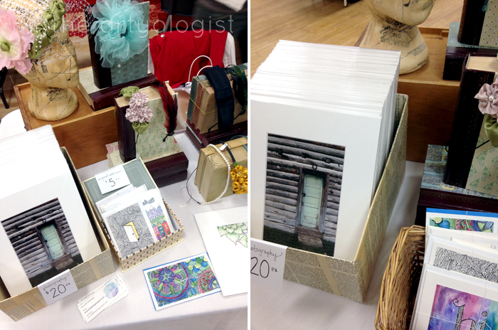 craft sale recap, display, the artyologist