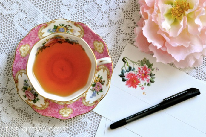 Life Lately: Changing Seasons, the artyologist, teacup-and-stationery