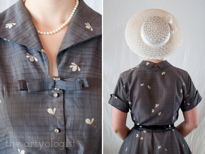 Easter Sunday's New Look, the artyologist, back and dress details