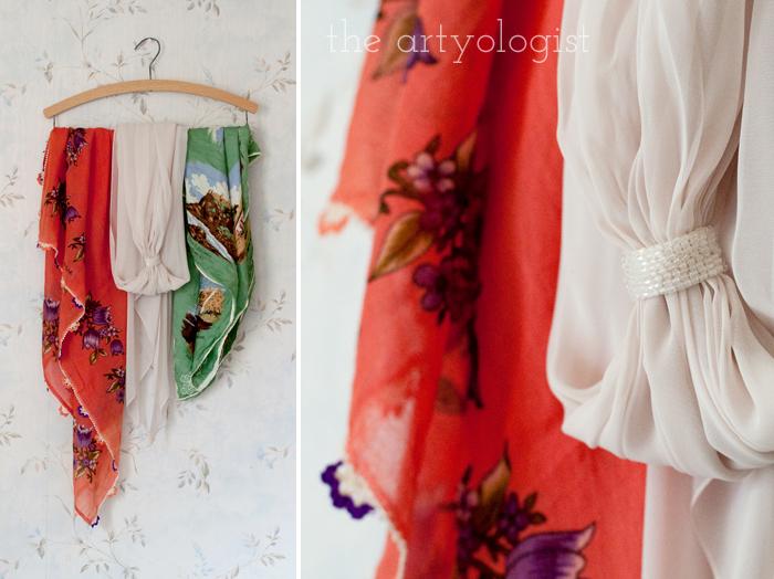 Fashion Revolution Haulternative (aka Thrift Finds) the artyologist, scarves