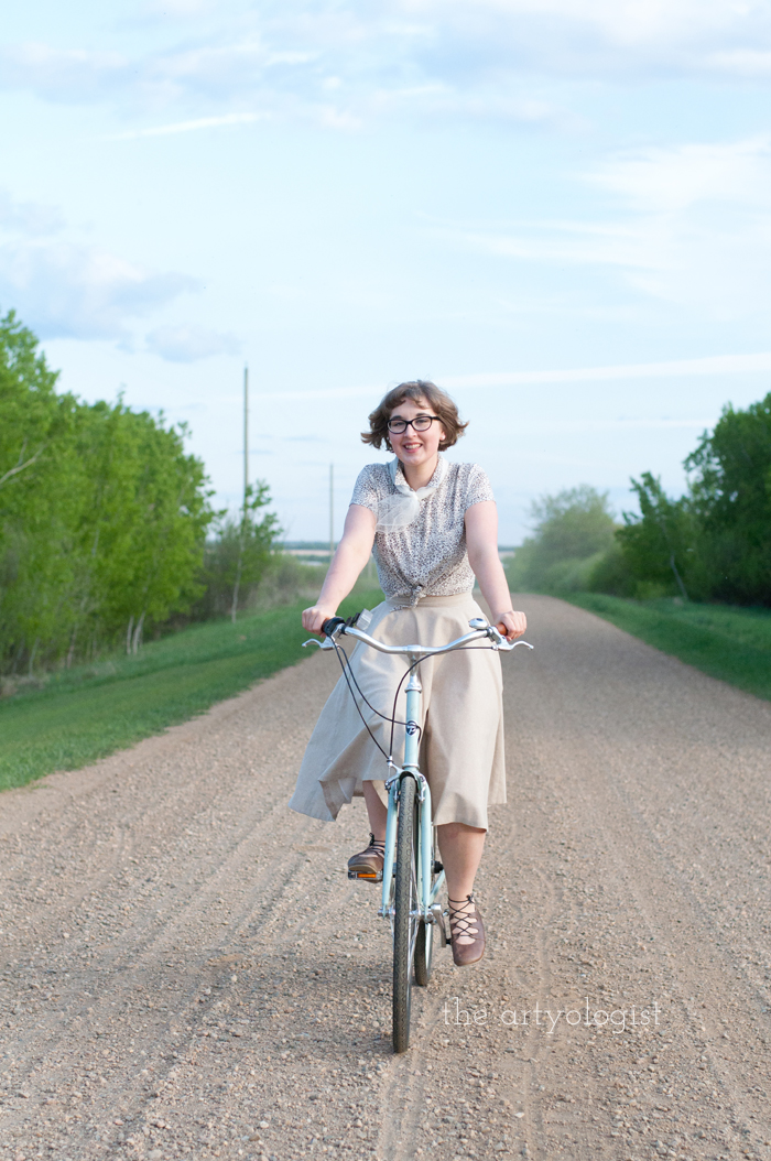 Rural Holiday, the artyologist, a roman holiday outfit