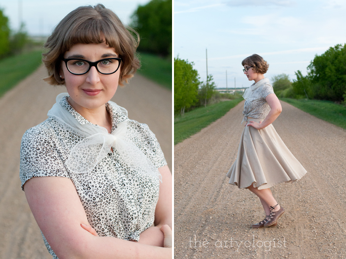 Rural Holiday, the artyologist, roman holiday outfit, portrait