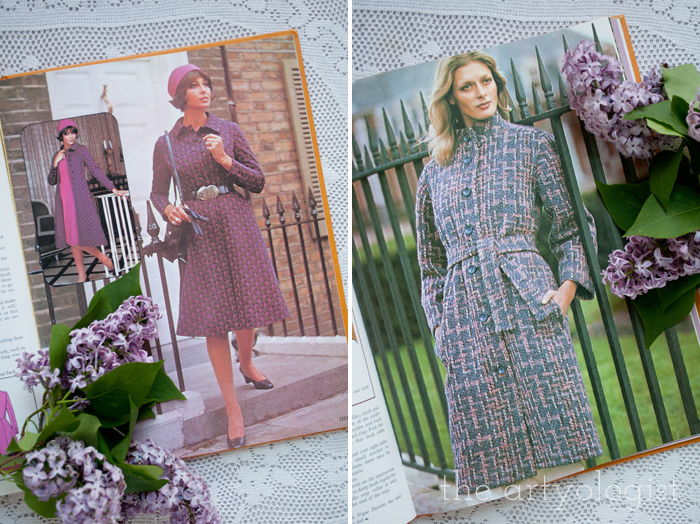 A Fashion Moment with Creative Hands: Lilac, coats