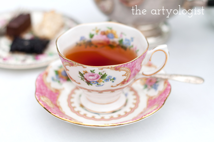 The Ladies Garden Tea (Which is not in a Garden): My Outfit, the artyologist, teacup-3
