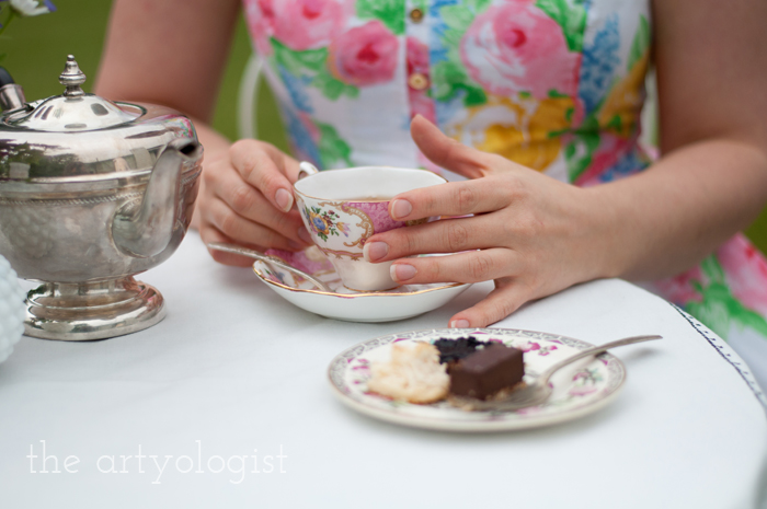 The Ladies Garden Tea (Which is not in a Garden): My Outfit, the artyologist, teacup-4