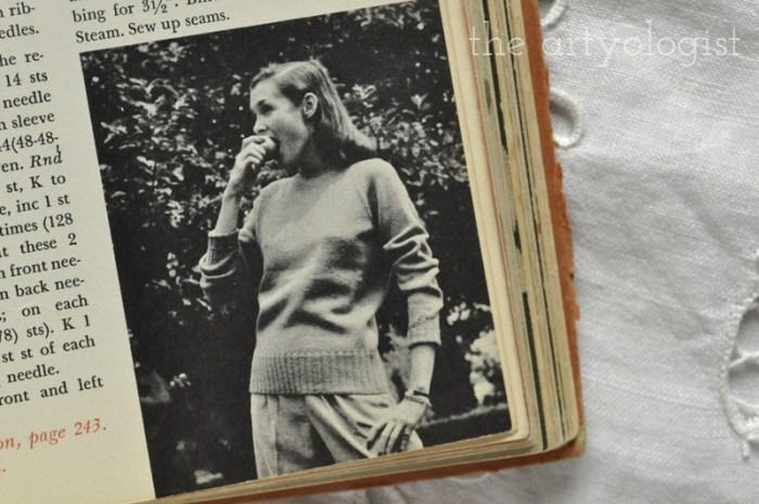 vintage-pullover- mccalls treasury of needlecraft