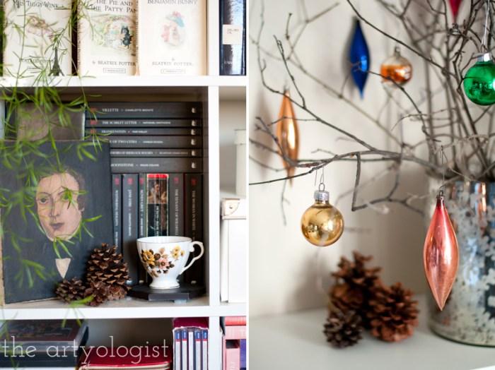 bookshelf-decorations, the artyologist