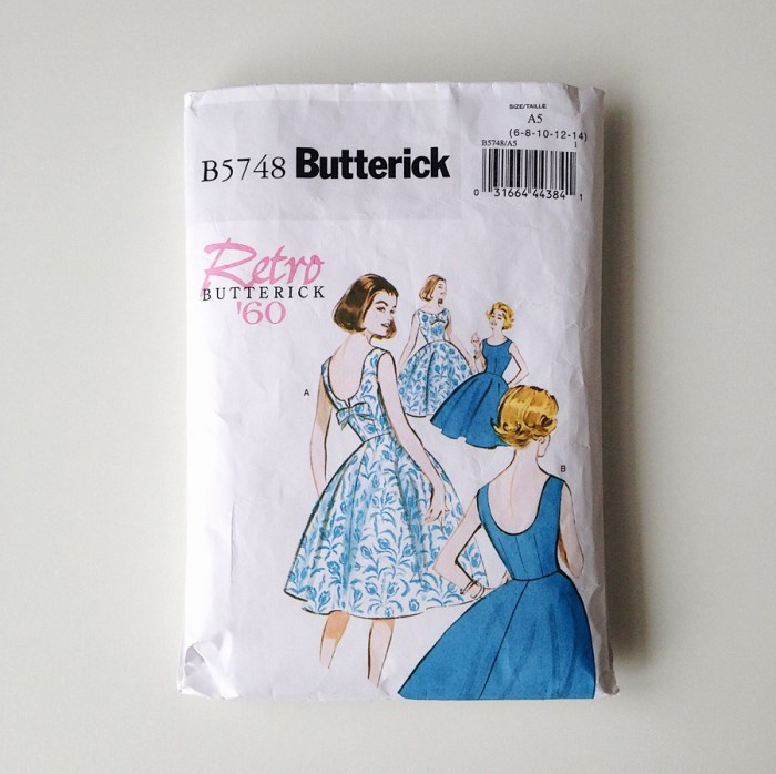 2018 Make Nine, Butterick 5748, the artyologist
