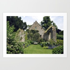 The Tithe Barn, Giclee Print