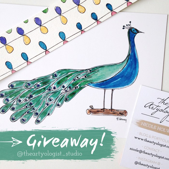 The artyologist, giveaway pic