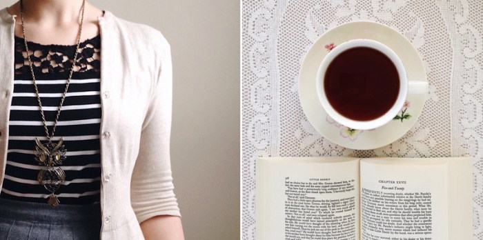 Life Lately: Photos, Thoughts and Links, the artyologist, tea and outfit details