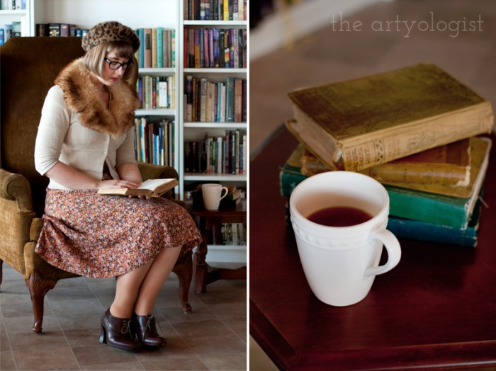 Swedish Stockings Review, the artyologist, books and outfit