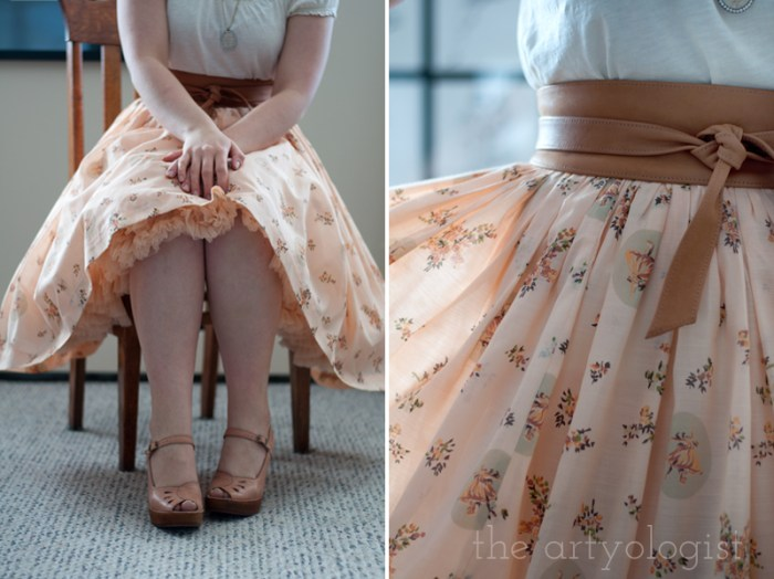 A Peachy Keen Valentine's Day Outfit, details, the artyologist