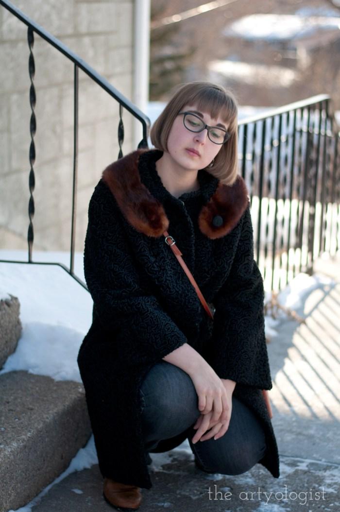 Vintage Modern Mix: Astra Fur & Denim, the artyologist