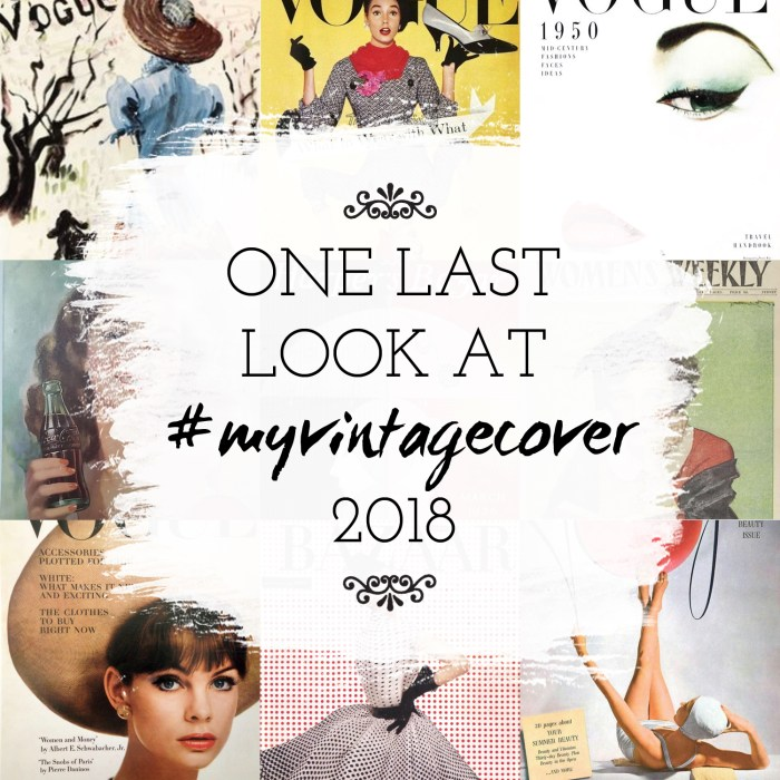 last look myvintagecover, theartyologist