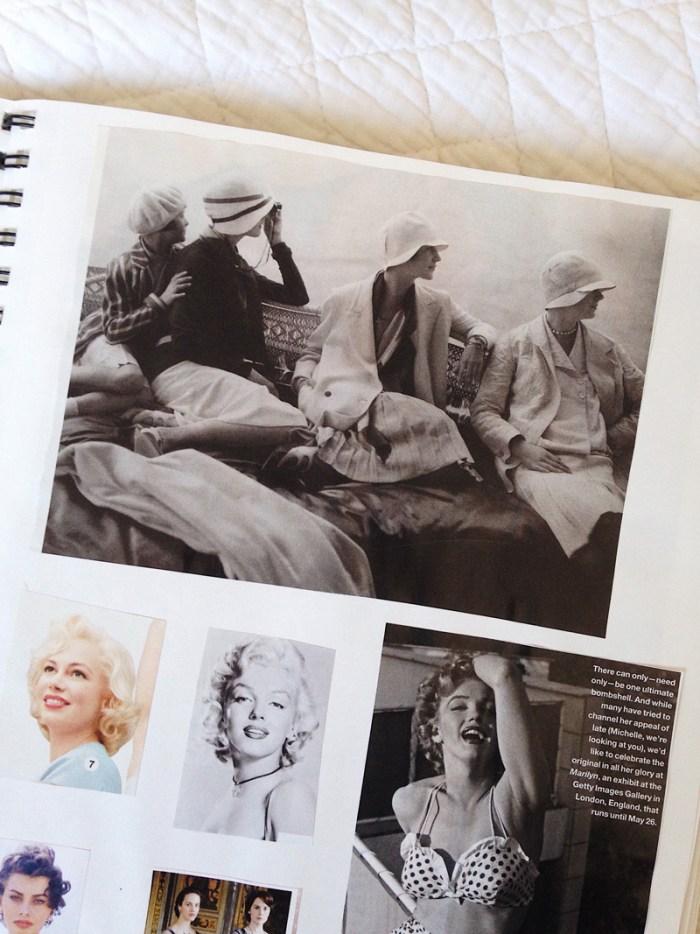 fashion scrapbook 20's, the artyologist