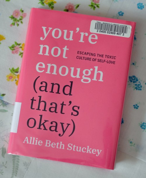 You're Not Enough book cover
