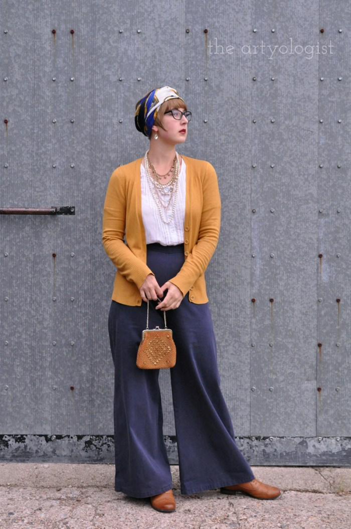 1920's inspired outfit