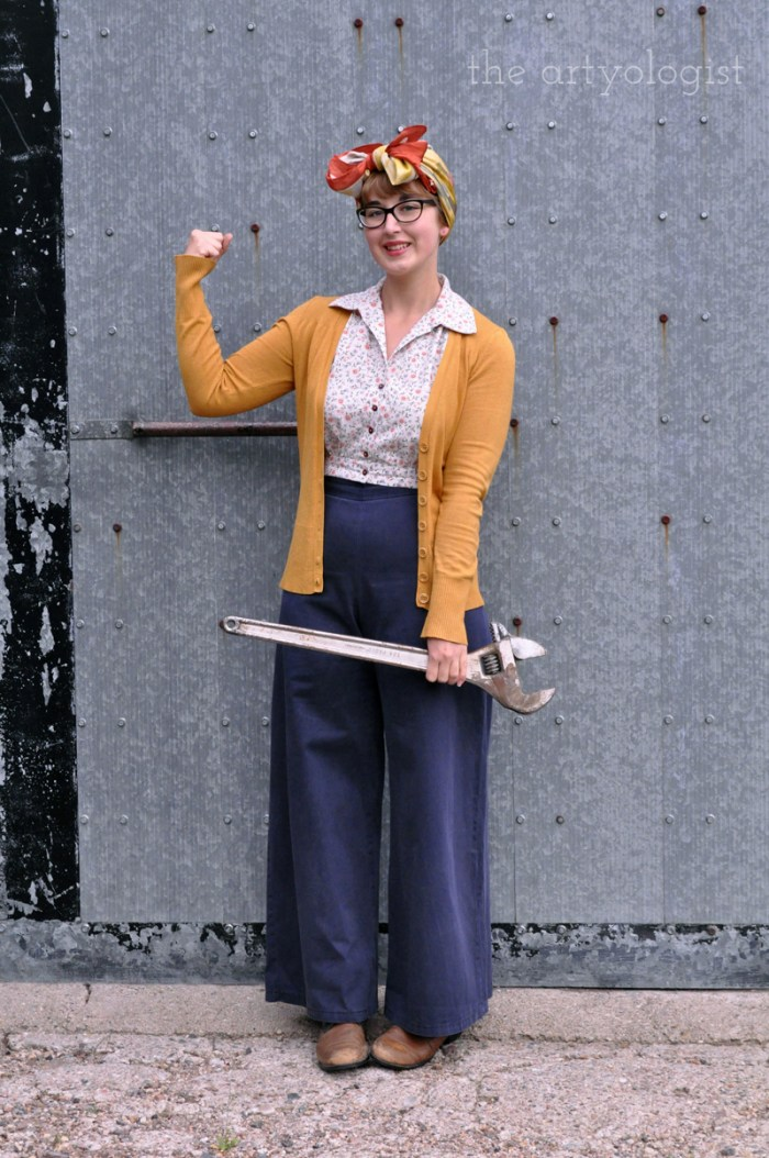 1940's WWII style outfit