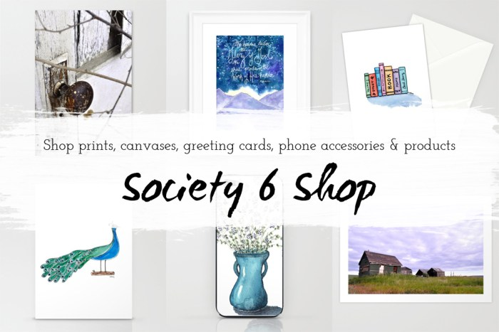 Society 6 Art Shop