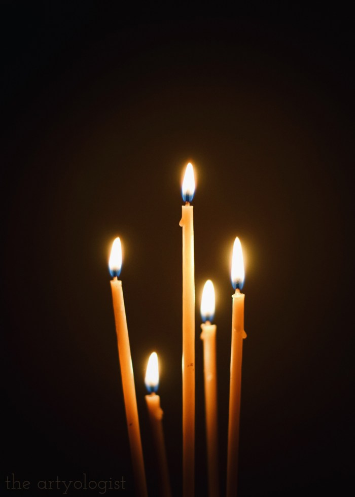 5 candles