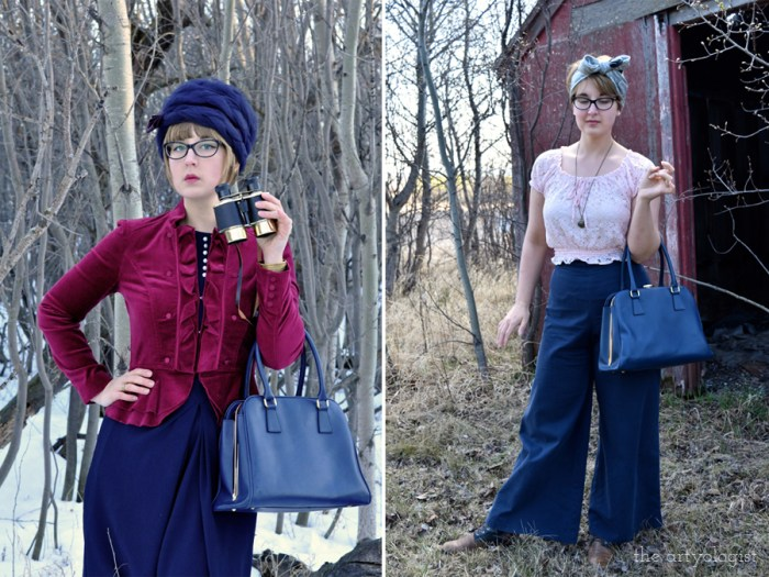 vintage styled outfit