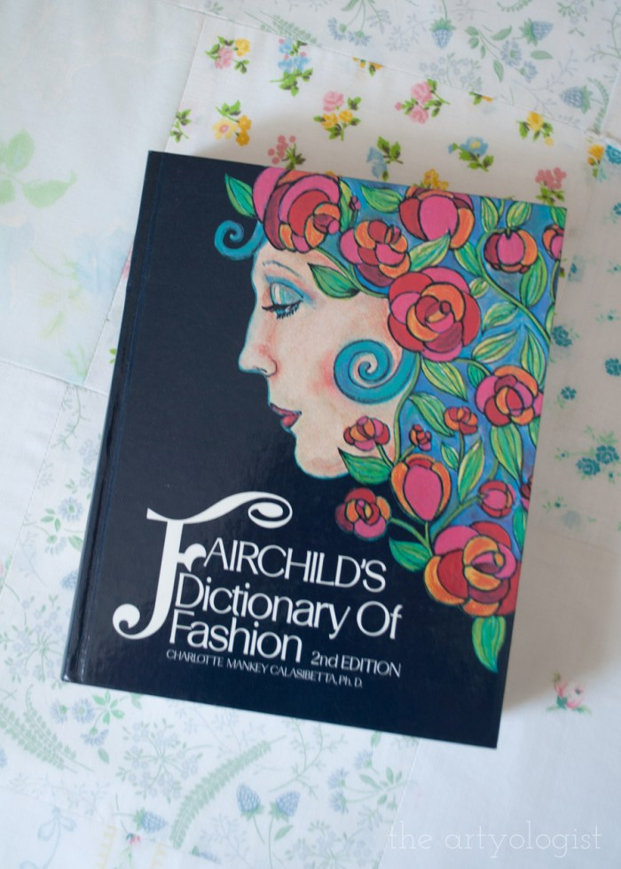 cover of Fairchild's dictionary of fashion