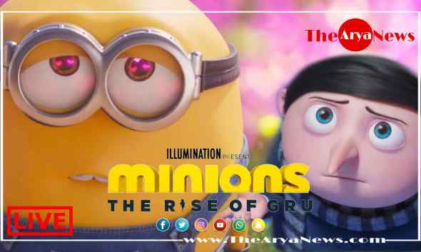 Minions: The Rise of Gru (2020) Full HD Leaked Movie Download on FilmyZilla