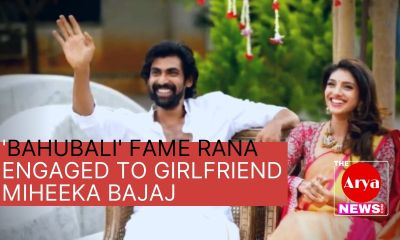'Bahubali' fame Rana engaged to girlfriend miheeka Bajaj