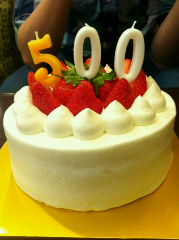 Image result for 500 cake