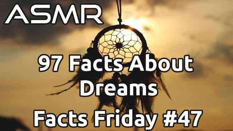 ASMR Whispering Interesting Facts About Dreams