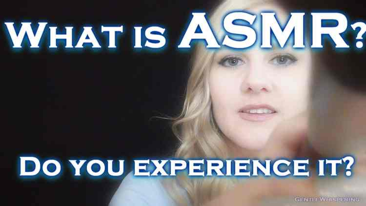 ASMR Meaning