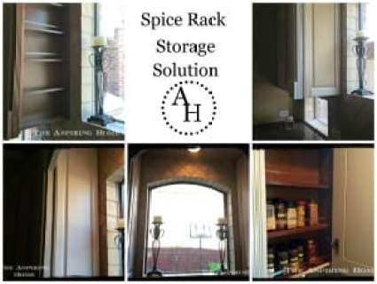 spice rack storage solution