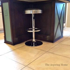kitchenislandupdate www.theaspiringhome.com