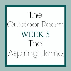 Outdoor Room Challenge – ORC – Week 5 – Ready or Not!
