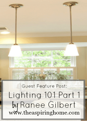 Guest Feature Day! Lighting Basics 101 Part One by Ranee Gilbert