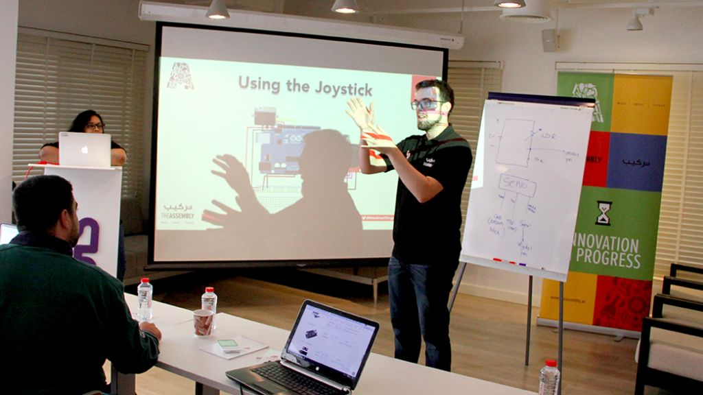 Workshop – Smart Home Furniture – Jan 9, 2016