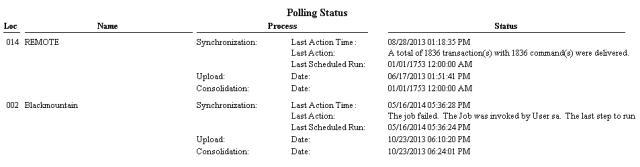 PollingStatus