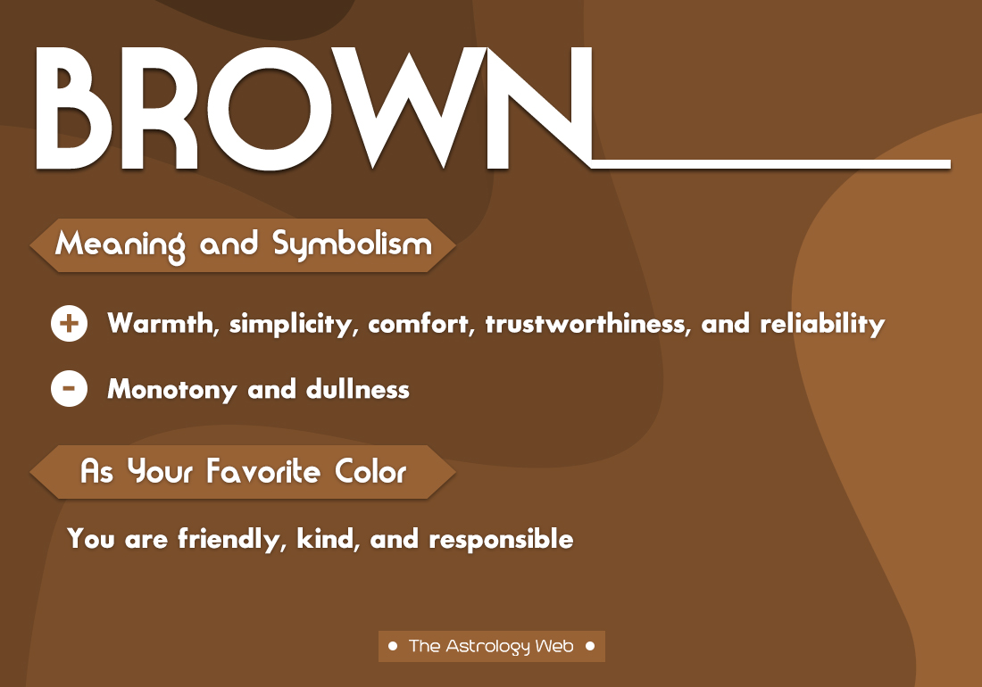 Brown Color Meaning And Symbolism