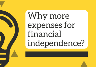Why I've Deliberately Increased Expenses To Move Towards Financial Independence