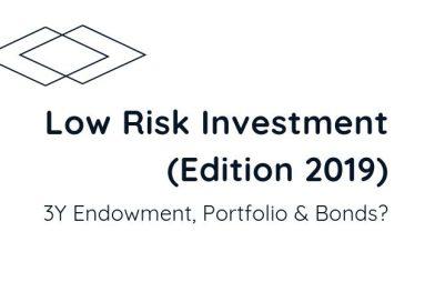 Low Risk Investment (Edition Oct2019) 3y Endowment, Portfolio or Bonds?