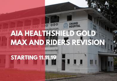 AIA HealthShield Gold Max and Riders Revision Starting 11.11