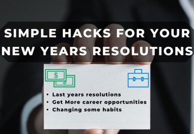 Simple Hacks For Your New Year's Resolution!