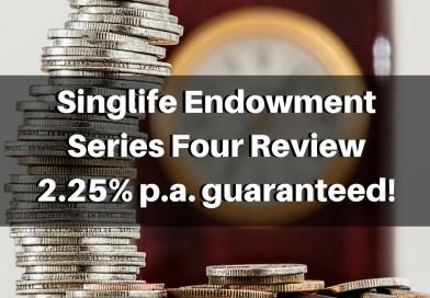 Singlife Endowment Series Four | Short Term (3 Year) Endowment Review