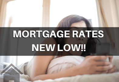 Mortgage Rates Have Reached NEW Lows!