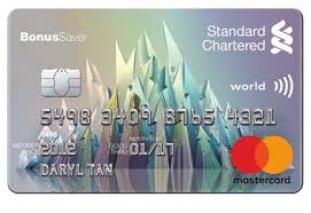 Stanchart BonusSaver card
