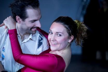 Tonya Harding und Jeff (Saskia Norman und Florian-Raphael Schwarz